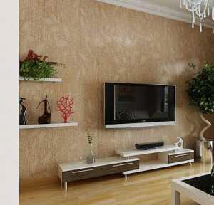 时尚靓丽的现代简约电视墙效果图