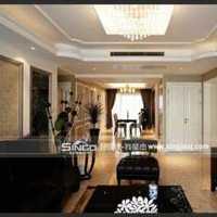 美式一楼客厅装修效果图