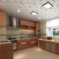 三口之家50平米新房厨房装修效果图