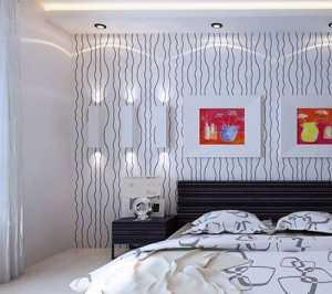 贝壳粉客厅背景墙装饰效果图