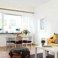 现代简约黑白灰客厅怎么装修
