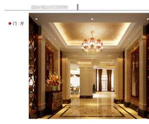 北京四合院大门正面