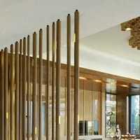 后现代三居室客厅壁纸效果图