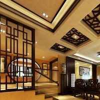 现代三居起居室棕色沙发装修效果图