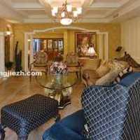 现代别墅素净简洁型起居室装修效果图