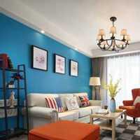 沙發三居室歐式腳凳裝修效果圖