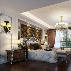 汇丰豪轩别墅装修美式风格设计方案展示