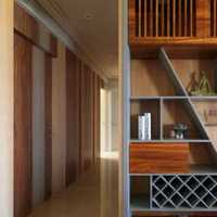 客厅木地板现代装修效果图