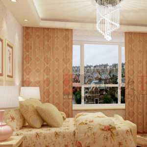 現代高級公寓臥室室內效果圖