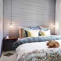 地中海卧室墙纸装修效果图