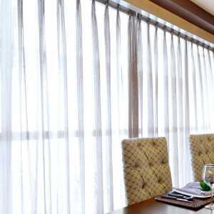 卧室装修窗帘效果图