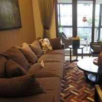 70平小户型客厅整体装修效果图