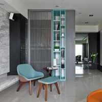美式风格三层独栋别墅舒适原木色效果图