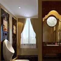 卫生间弧形浴帘杆装修效果图