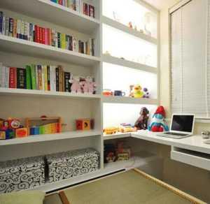 年輕辣媽為寶貝打造榻榻米臥室&滿墻書柜