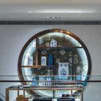 乡村别墅客厅古典新中式装修效果图