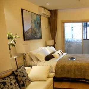双人茶几窗帘卧室窗帘装修效果图