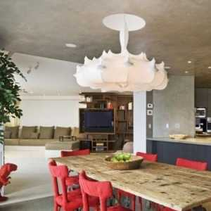 現代風格140平米四室兩廳裝修效果圖