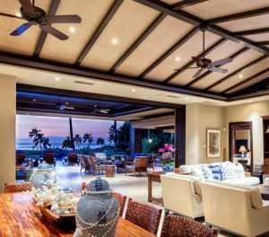 熱帶海島風的客廳,把家變成度假村?。ㄖ校?/></a>          <a target=