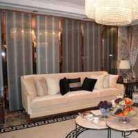 灯具地毯美式客厅吊灯装修效果图
