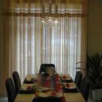 中式餐厅和现代客厅混搭装修效果图