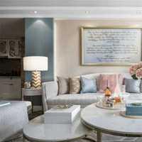 温暖米色客厅沙发装修效果图