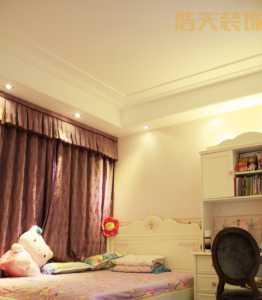弧形臥室裝飾