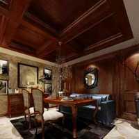 中式餐厅照片墙黑色装修效果图
