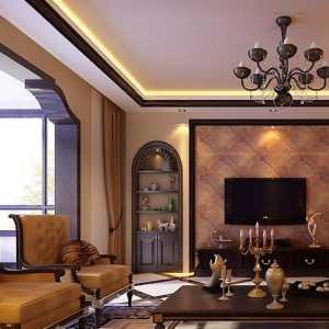 北京现代简约客厅简装吊顶