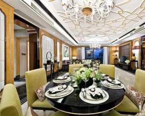 北京冷色调客厅装修