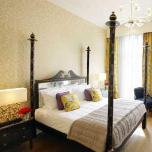 舒适二居室富裕型90-120平米时尚卧室混搭三居室公寓欧式古典15-30万白色黄色中性色120-150平米