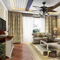 简约沙发背景墙贴花装修效果图