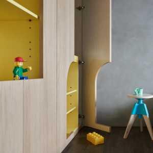 长方形儿童卧室装修效果图