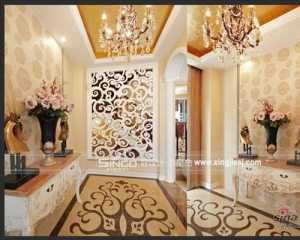 现代风格卫生间瓷砖装修效果图