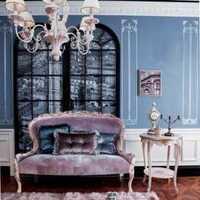 客厅背景墙田园茶几鞋柜装修效果图