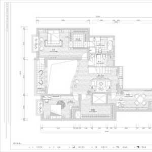 三房一厅红木装修效果图大全