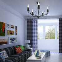欧式客厅茶镜背景墙装修效果图