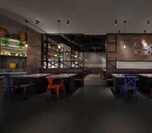 小黑牛——295㎡简约工业风的中餐厅设计