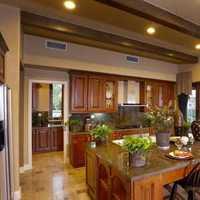 厨房厨房吧台开放式厨房装修效果图