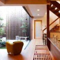 现代别墅华丽创意式厨房装修效果图