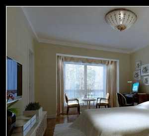 米色装修效果图卧室图片