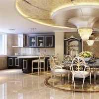现代嫩白色系别墅起居室装修效果图