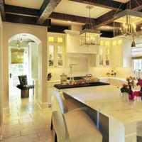 现代简约小型厨房三居装修效果图