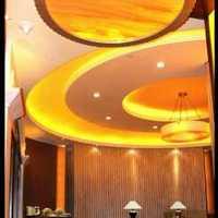 中式装饰餐厅效果图