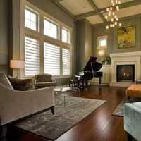 略带禅意中式客厅装修效果图