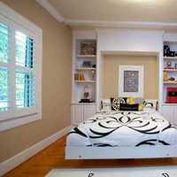 现代四居卧室窗帘窗帘装修效果图