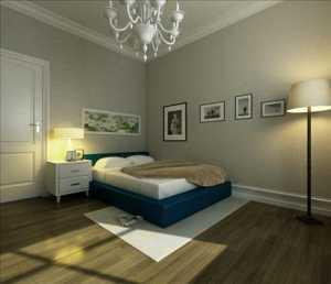 客厅至卧室玄关有一小拱门
