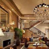 客厅照片墙吊顶美式装修效果图