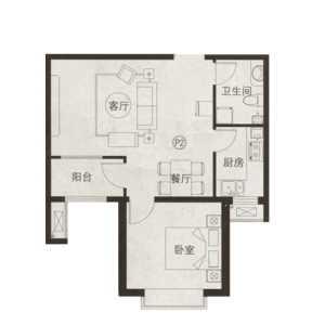 北京75平米兩居室新房裝修誰知道多少錢