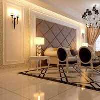 欧式风格简装卧室效果图